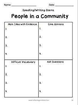 Community Unit for ESL