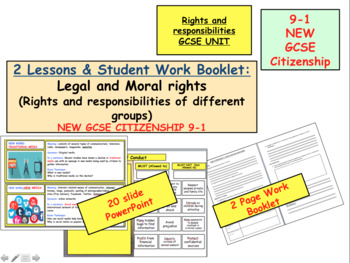 Legal and political Rights and Responsibilities GCSE Citizenship 9-1