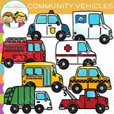 Community Vehicles Clip Art