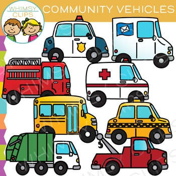 community transportation clip art by whimsy clips tpt rh teacherspayteachers com community clipart free community clipart black and white