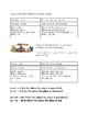 Community Vocabulary Packet for Spanish