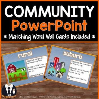Community Vocabulary Power Point