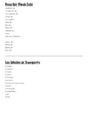 Community Vocabulary Unit Bundle (Spanish 1: Realidades+)