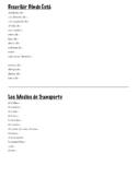 Community Vocabulary Unit Bundle (Spanish 1: Realidades+)