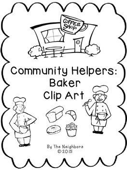 Community Worker Baker Clip Art