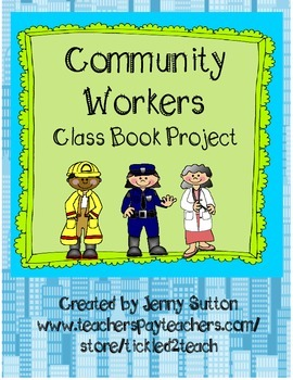 Community Worker Class Book Project