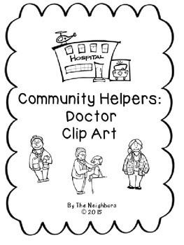 Community Worker Doctor Clip Art