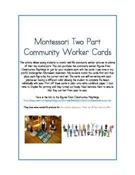 Community Worker Matching Cards