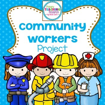 Community Helpers Interview Project by Primary Teaching Resources