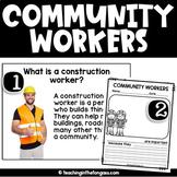 Community Helpers Activities (Community Helpers Unit)
