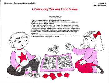 Community Workers - Activities and Games