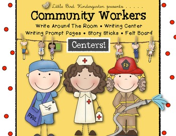 Community Workers Centers • Write Around the Room • Story Sticks