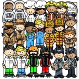Community Helpers Clipart (Community Worker Clipart Set 1 of 2)
