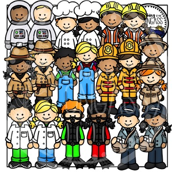 Community Helpers Clipart Bundle 1
