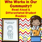 Community Helpers Differentated Student Readers