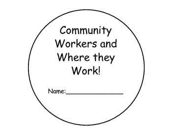 Community Workers Interative Reader/Book