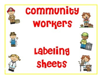 Community Workers Labeling Sheets