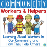 Community Helpers and Community Workers Kindergarten PreK