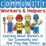 Community Helpers Worksheets & Activities Kindergarten Preschool