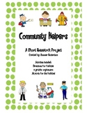 Community Workers Mini-Research Project Lapbook
