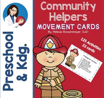 Community Workers Movement Cards Set