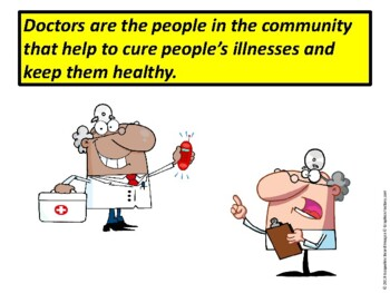Community Workers Printable Book