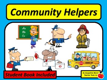 Community Workers Printable Book