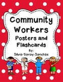 Community Workers Posters and Flashcards
