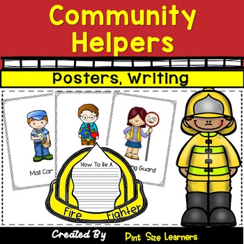 Community Workers Posters and Writing