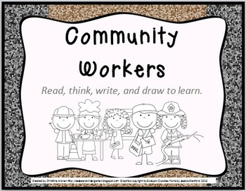 Community Workers: Read, Think, Write, and Draw to Learn