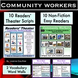 Community Workers: Readers' Theater, Non-Fiction Easy Read