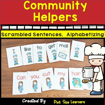 Community Workers Scrambled Sentences