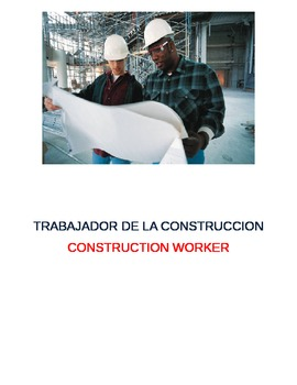 Community Workers: Set of 10 Picture Cards --- Written in Spanish and English
