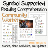 Community Workers - Symbol Supported Picture Reading Compr
