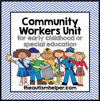 Community Workers Unit for Special Education by The Autism Helper