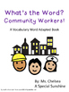 Community Workers Vocabulary for Special Education