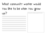 """Community Workers ~  """"When I Grow Up"""""""