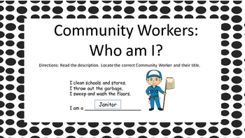 Community Workers - Who Am I?