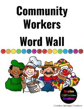 Community Workers: Word Wall