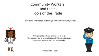 Community Workers and their Tools of the Trade