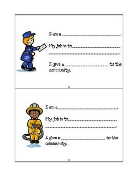 Community Workers mini book
