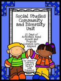 Community and Diversity Unit Plan - Common Core Aligned