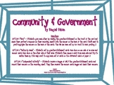 Community and Government Game Activity