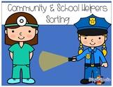 Community and School Helpers Sorting