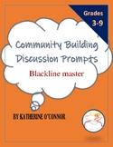 Community building discussion prompts (handout)