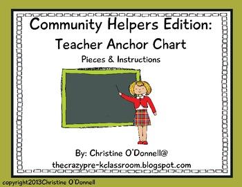 Community helper Anchor Chart: Teacher