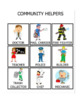 Community helper matching