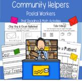 Community helpers: Postal Workers PreK Reading Math Indepe