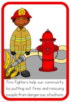 Community helpers book