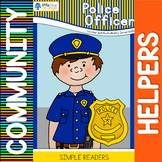 Community helpers book - police officers
